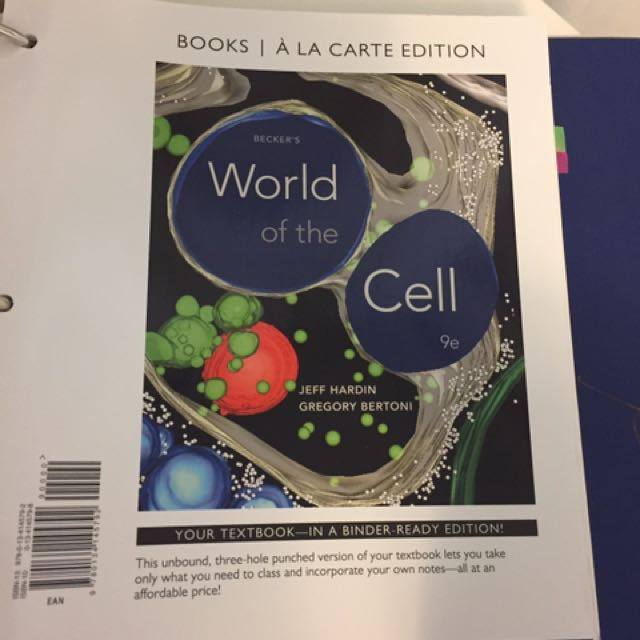 Beckers world of the cell