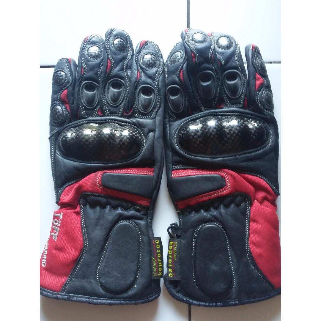Biker's hand gloves