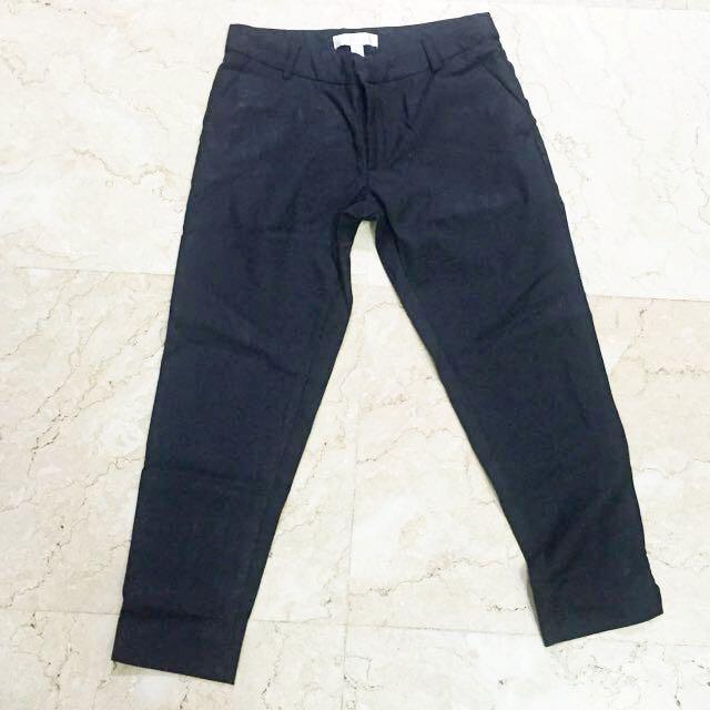 Black 3/4 Work Trousers