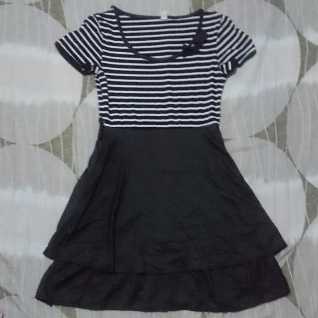 Black Stripes Dress