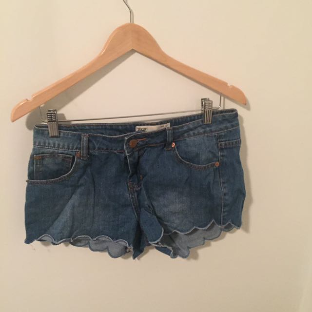 Blue Denim Short