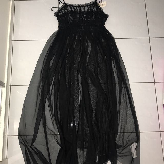 BNWT Forever 21 Mesh Maxi Dress ( Outer )