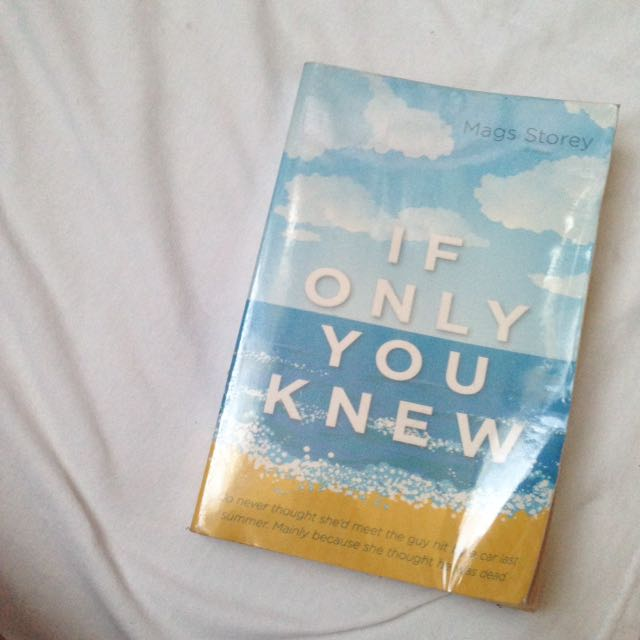 Book: If Only You Knew