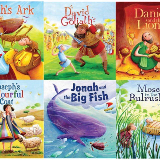 *Brand New* Bible Story Books for Kids
