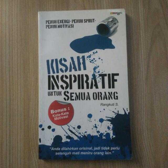 Buku kisah kisah inspiratif