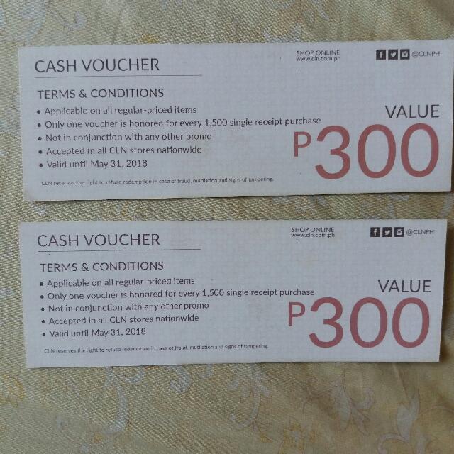 Celine Cash/gift Voucher