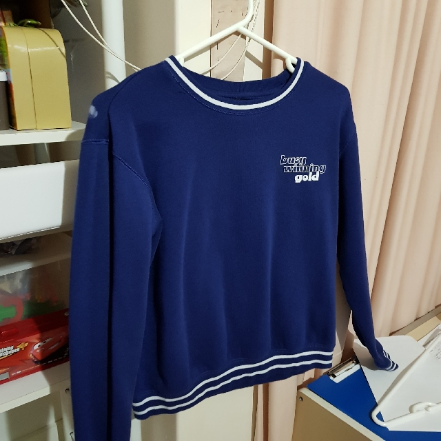 Cotton On Blue Pullover Jumper