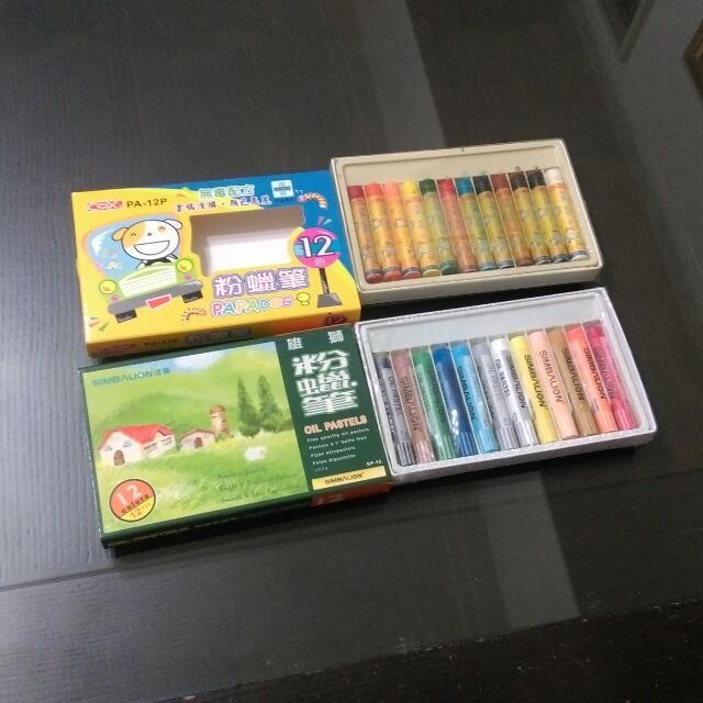 降價)雄獅/cox蠟筆