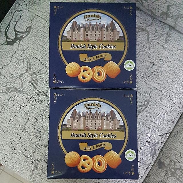 Danish Style Cookies