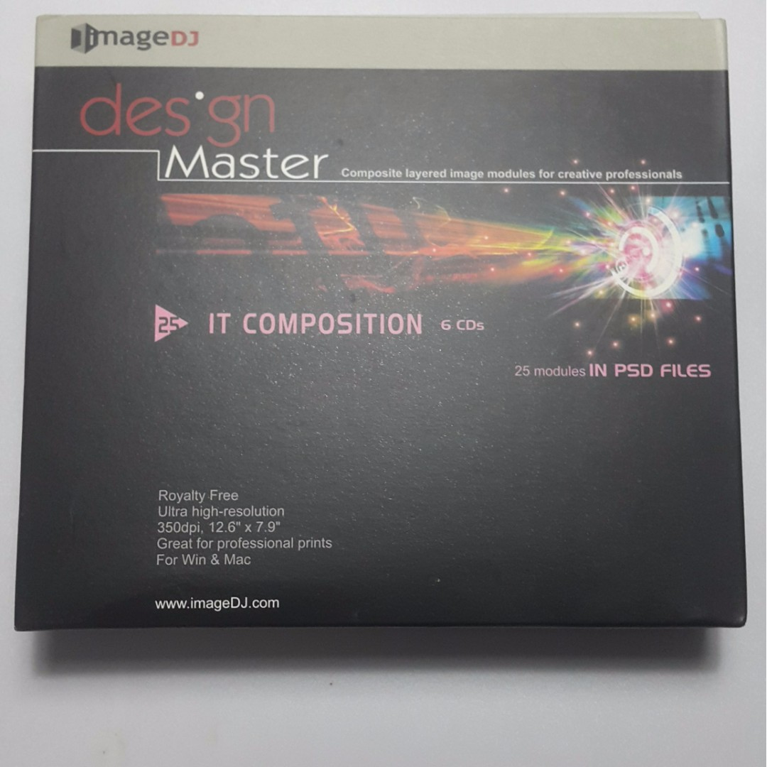 Design Master IT Composition 6CD ultra high resolution by ImageDJ