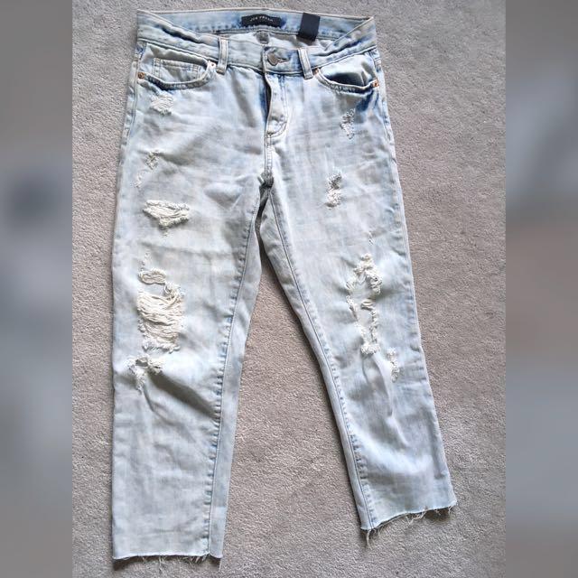 Distressed Boyfriend Jeans JoeFresh size24