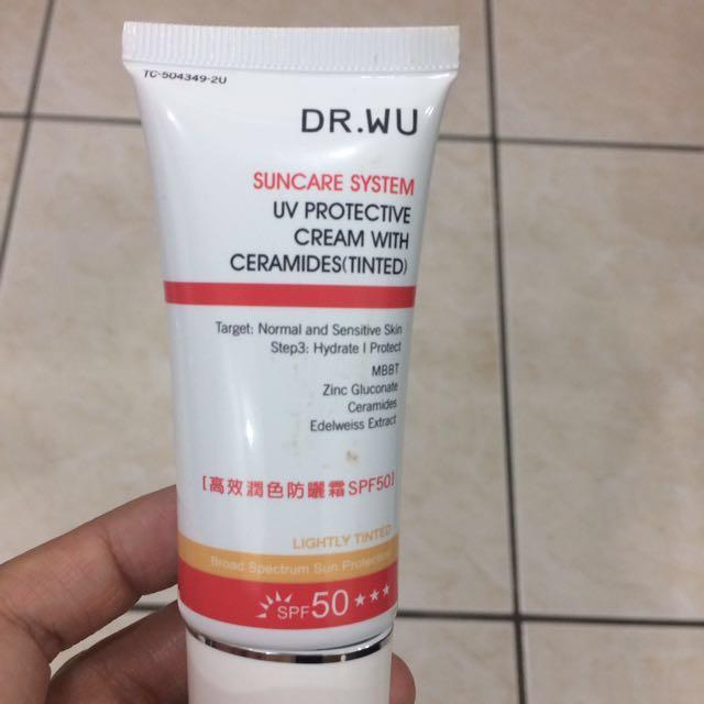 DR.WU 高效潤色防曬霜