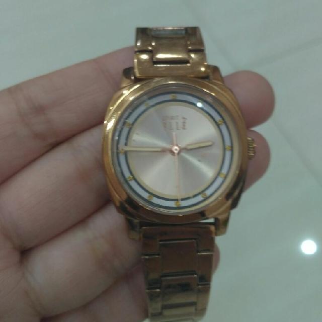 Elle Ori Rose Gold Watch