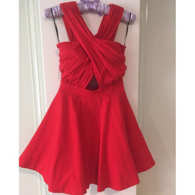 Faith & Lola Red Dress Size 6