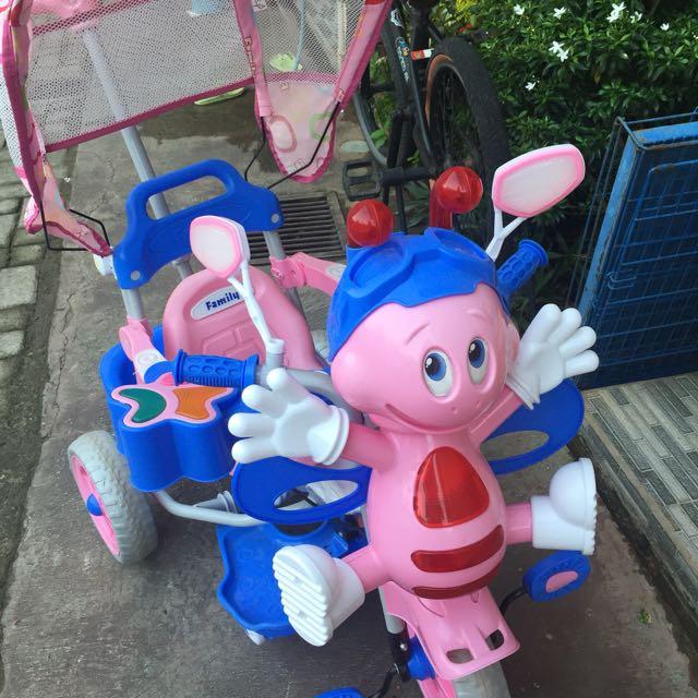 Family-sepeda Anak