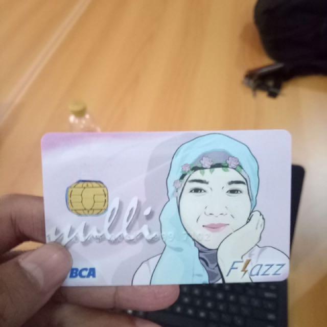 Flazz Custom Card Desain kartu flazz sukasuka