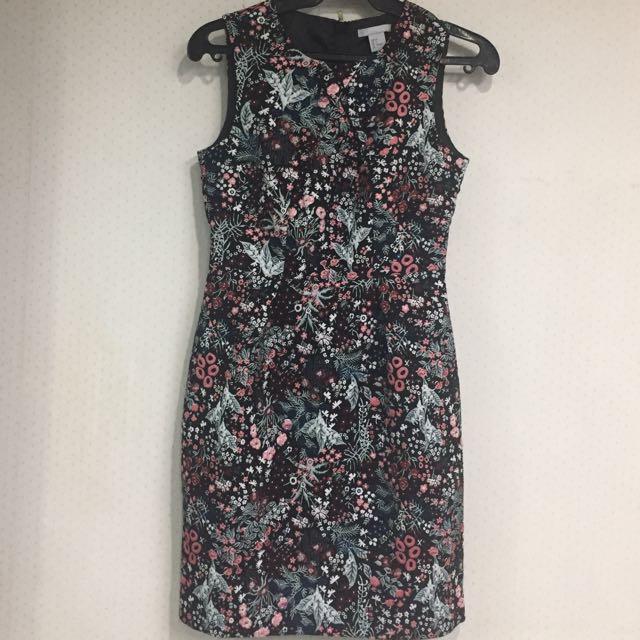 Floral Shift Dress