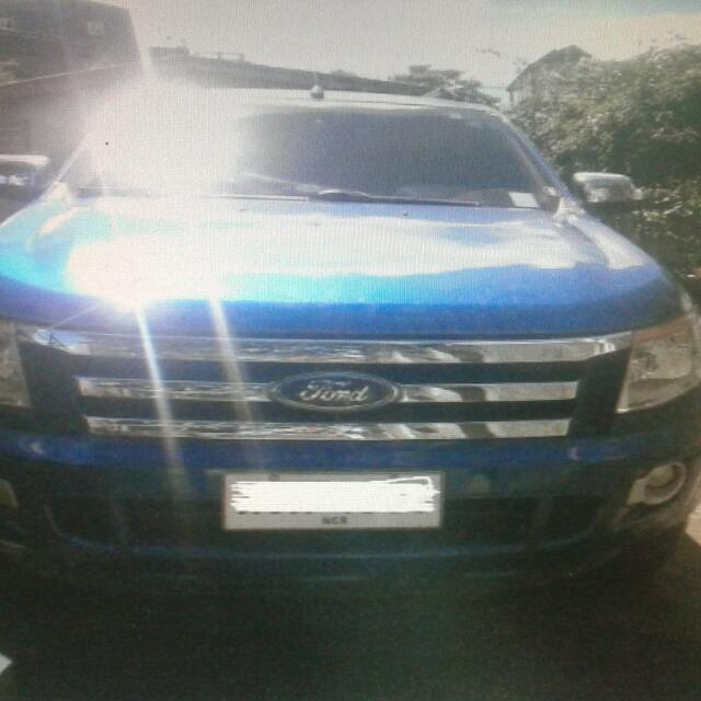FORD RANGER BLUE