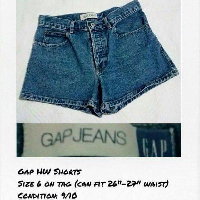 GAP HW Denim Shorts