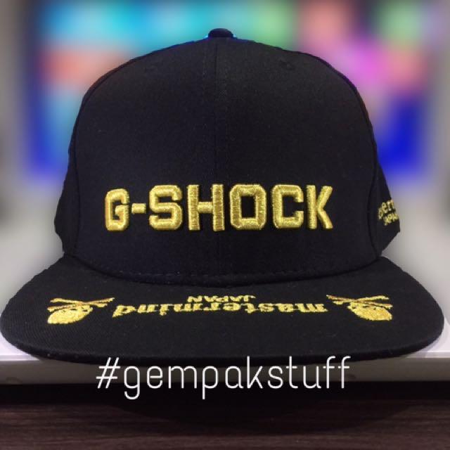 f9b6a697256 G-Shock Mastermind Snapback Cap