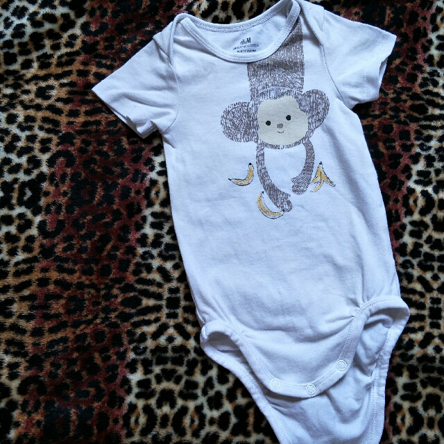 H&M monkey onesie