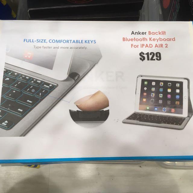 IPad Air 2/ IPad Pro 9.7 Bluetooth Keyboard Case