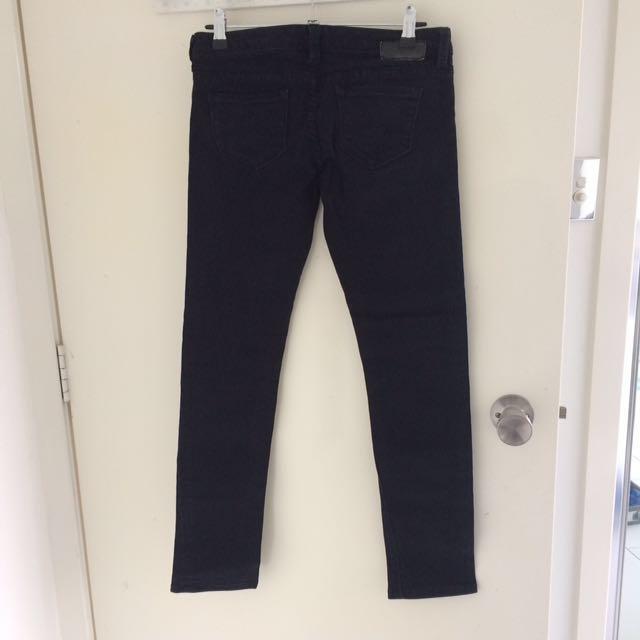 Jeanswest black petite super skinny jeans size 6