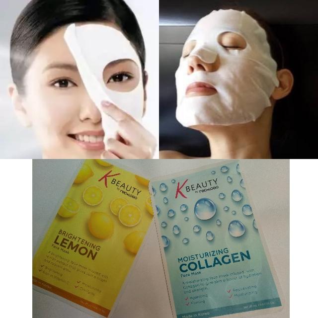 k beauty collagen mask