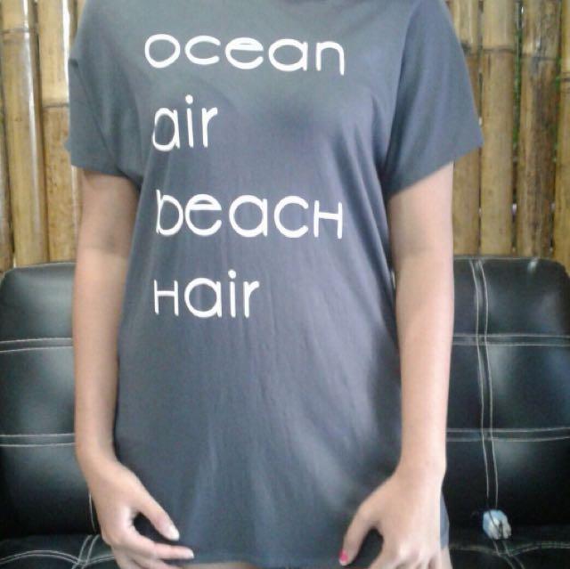 kaos ocean air beach hair