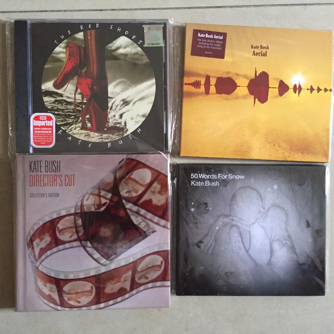 KATE BUSH - CD albums collection