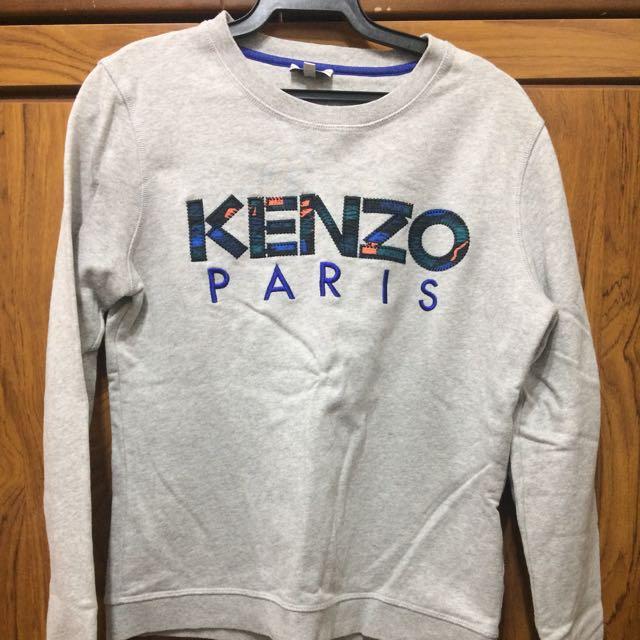 Kenzo灰色大學t
