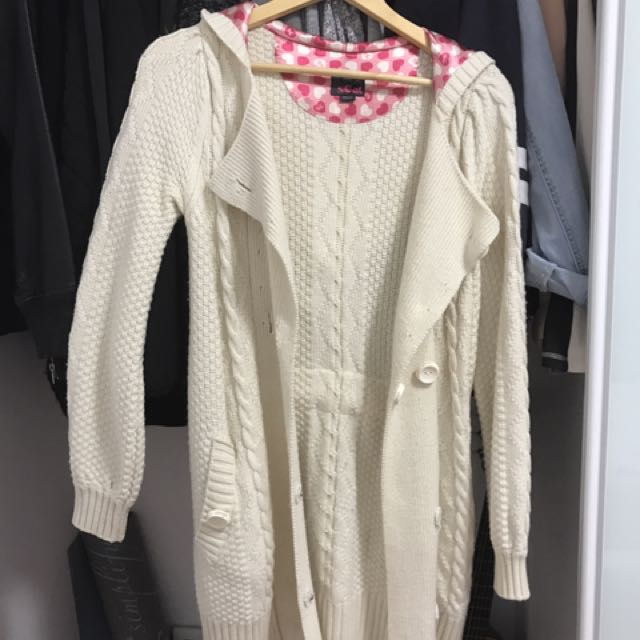Knitted coat/jacket