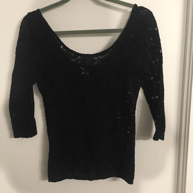 Lace top size m