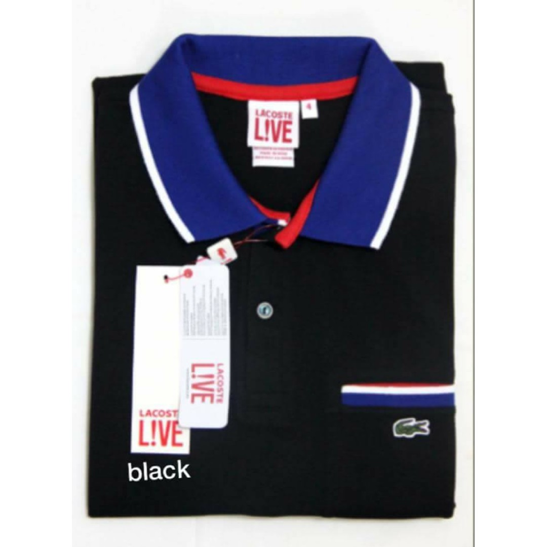 f8bf4bbc3cbf9 Lacoste Live with pocket for Men, Men s Fashion, Clothes on Carousell