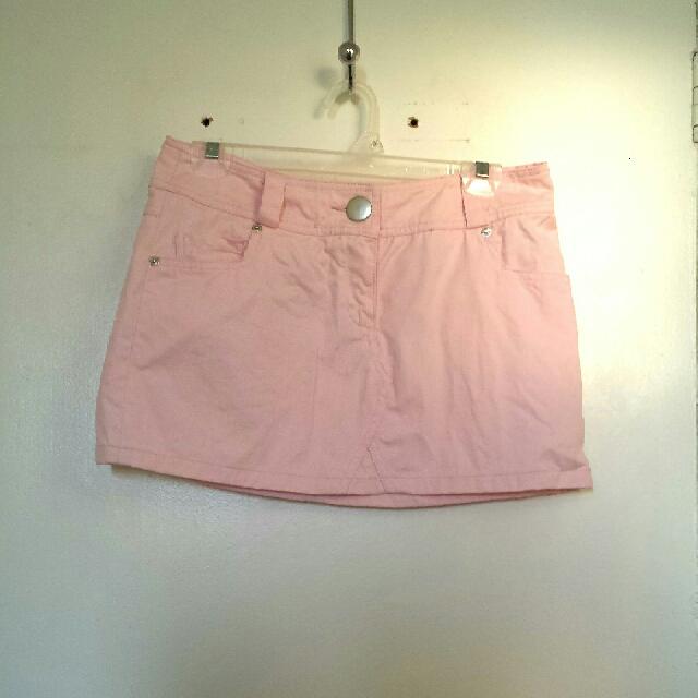Large Pink Skirt