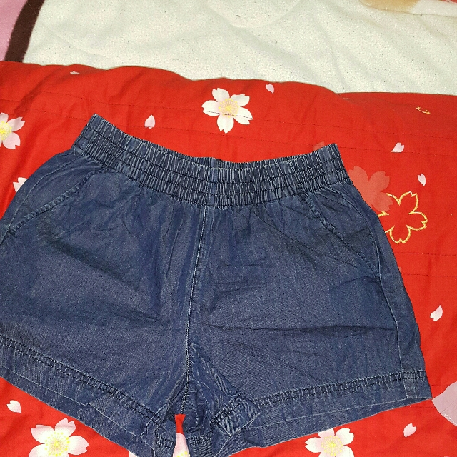 lative short soft denim