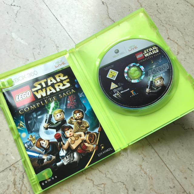 LEGO Star Wars: The Complete Saga (Xbox 360), Toys & Games, Video ...