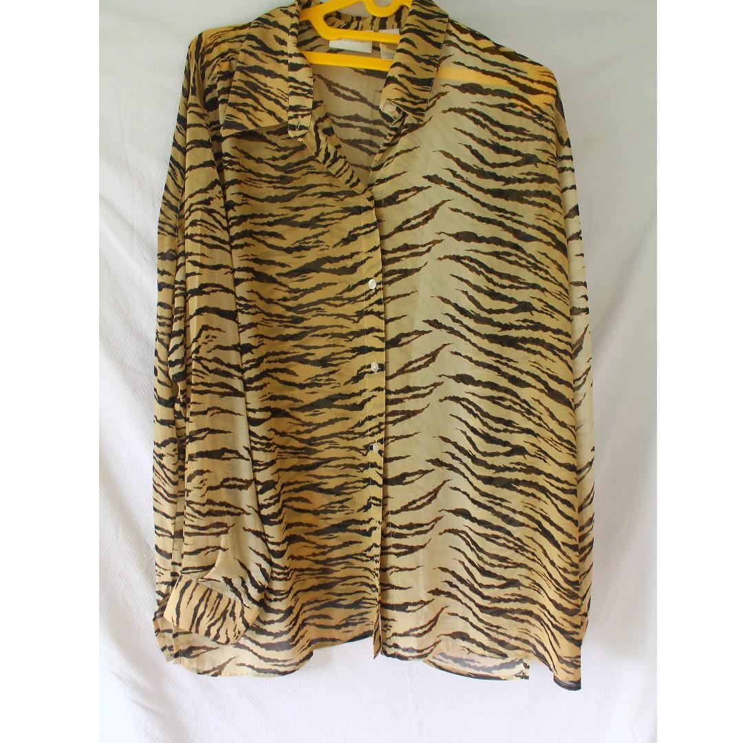 Leopard Shirt Big size