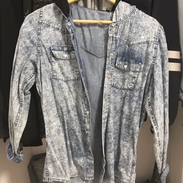 Light chambray jacket