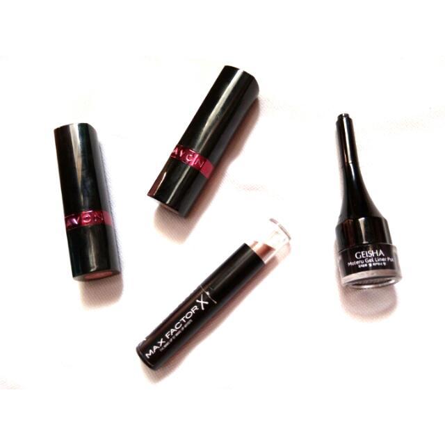 Lipsticks & Gel Liner