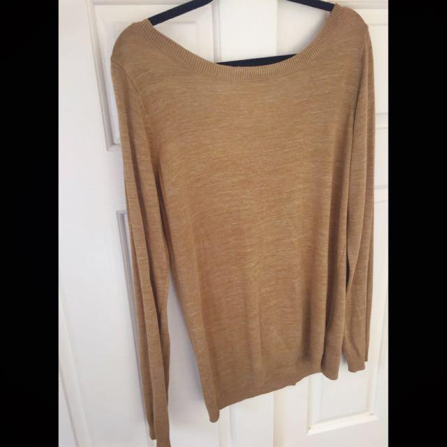 Long sleeve knitwear