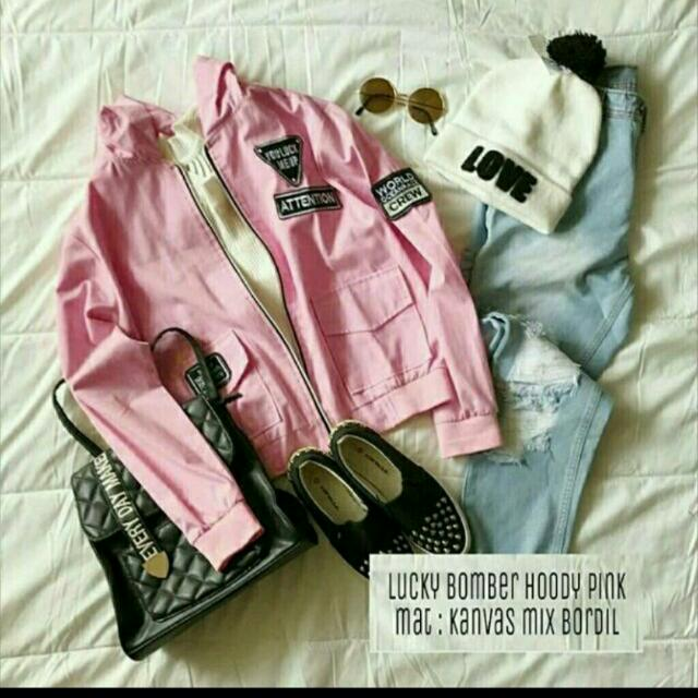 Lucky Bomber Pink