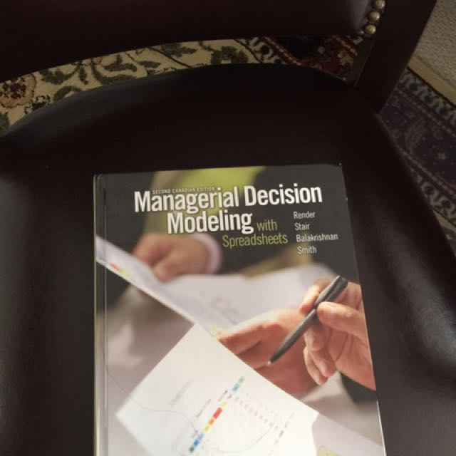 Managerial Decision Making- 2nd Ed.