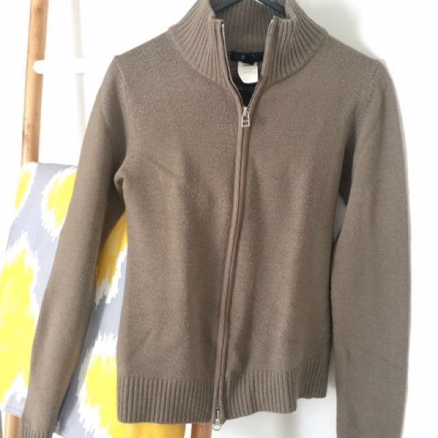 MANGO light sweater in cream size S