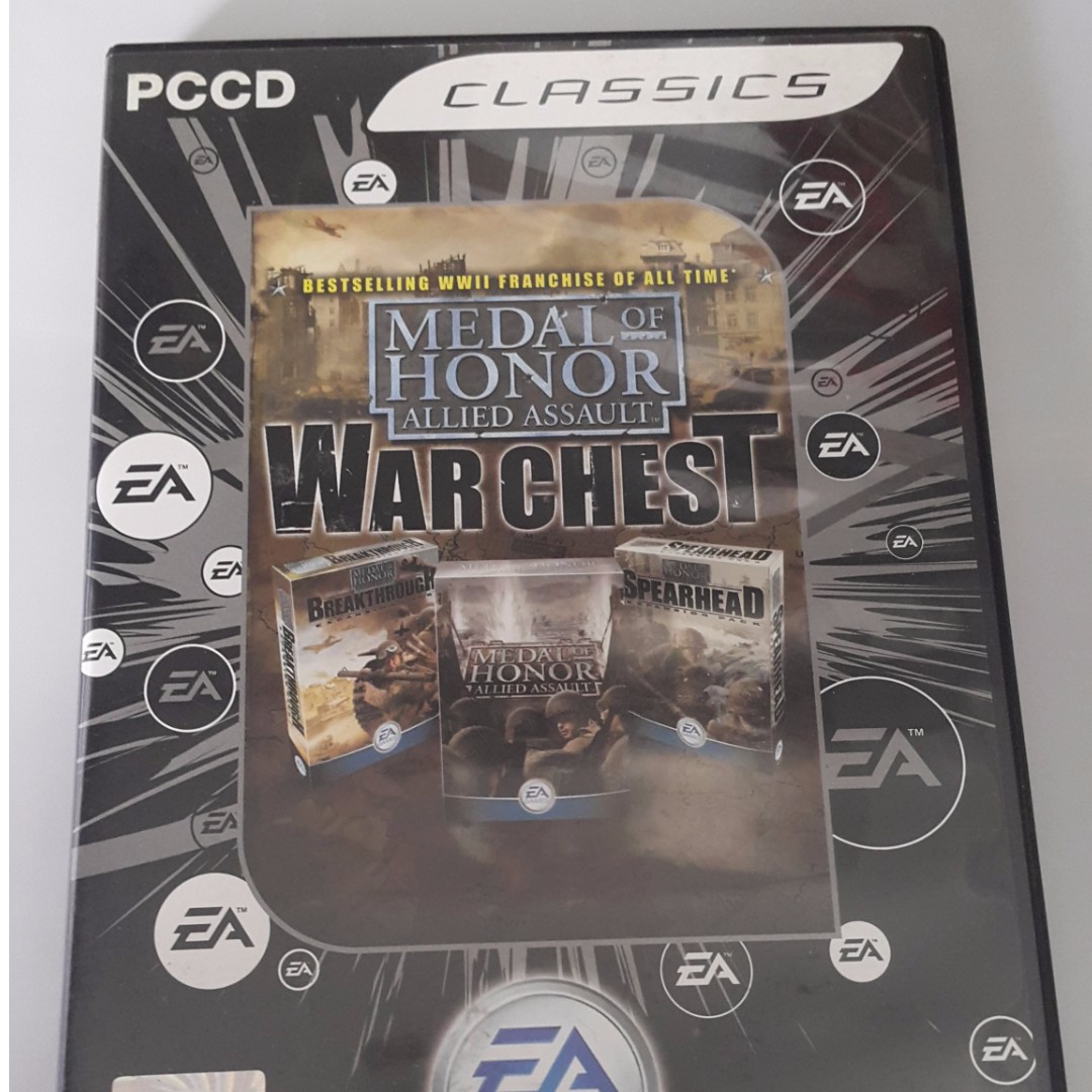 PC Medal of Honor Allied Assult Warchest by EA Original CD