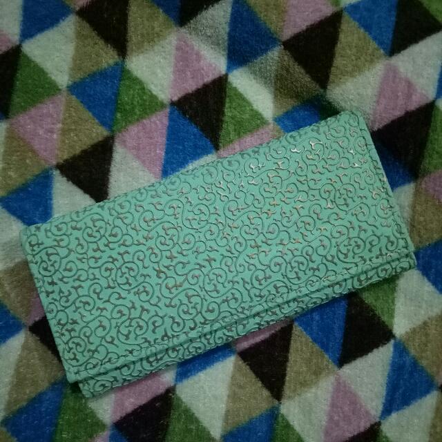 Mint Green Royalty Wallet
