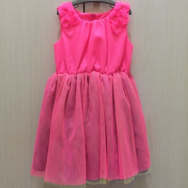 Mothercare dress pink 1 1/2-2y