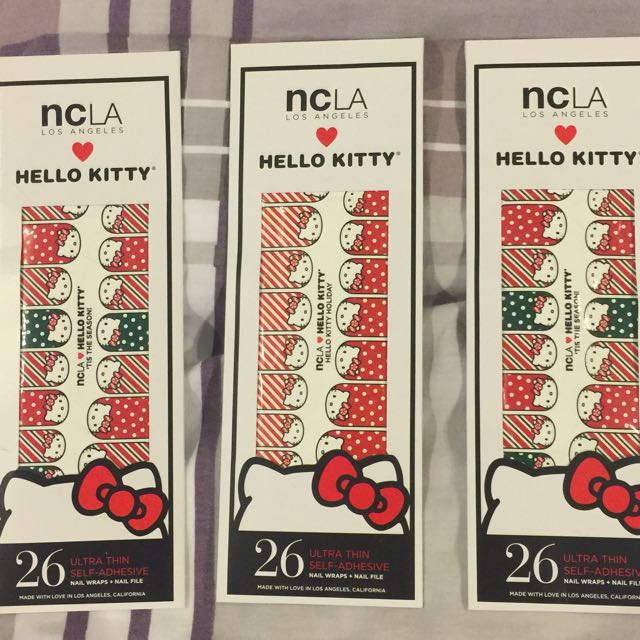 NCLA Hello Kitty Nail Wrap