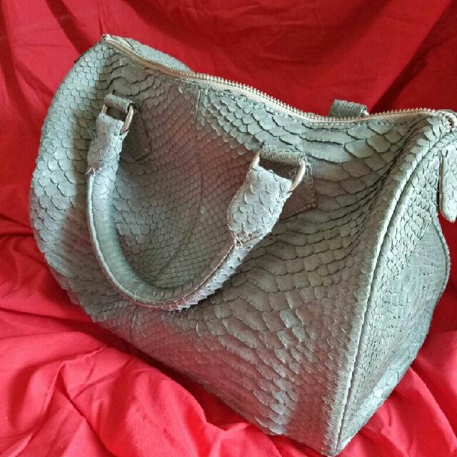 original snake skin bags
