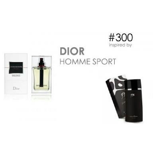 Parfum FM 300 Inspired By Christian Dior Homme Sport